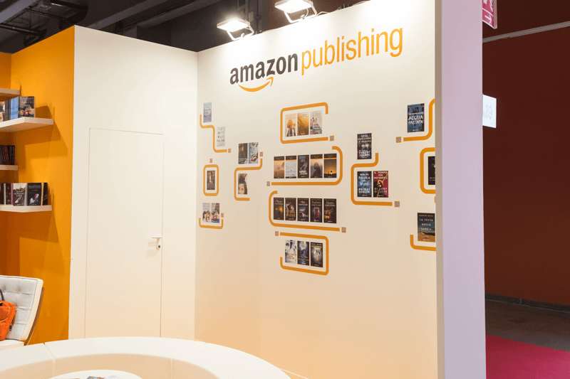 amazon book publishing kiosk