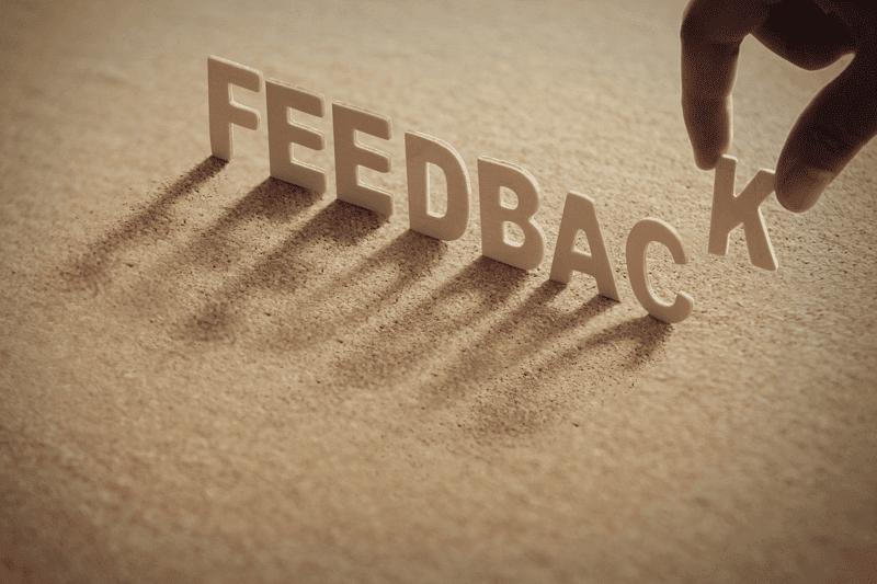 feedback letters