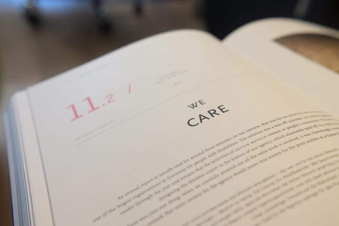 we care book
