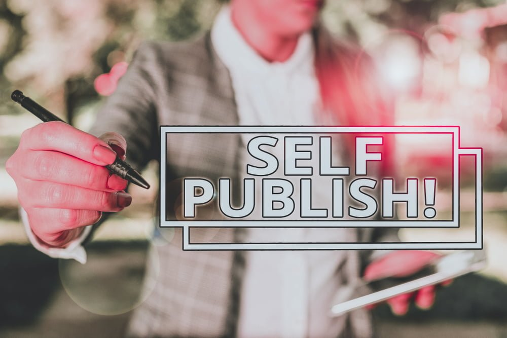 Self-publishing services for book authors